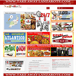 Takeaway Lanzarote .Takeaway Arrecife, Lanzarote, food delivery with a variety of restaurant from Arrecife offering Pizza, Kebabs, Chinese, Indian,Thai, Italian, Canaries, Spanish  and much more. Order high-quality takeaway online from top restaurants in Arrecife, fast delivery straight to your home or office.Get amazing food from an incredible selection of local restaurants in Arrecife, Lanzarote.